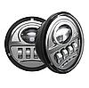 Протитуманні фари в люстру Harley-Davidson 4,5 дюйма (LED) MS-FG30F хром