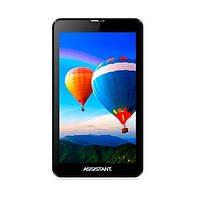 "Планшет Assistant AP-777G Freedom 7"" 1024х600, 2sim, 3G, GPS, 2 ядра, 1 ГГц, 8 Гб, Android 4.4.2, Bluetooth"
