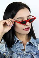 Нестандартные FAMO Cолнцезащитные женские очки ретро BJ5168 красные Общая ширина 15.0(см)/ Высота линзы
