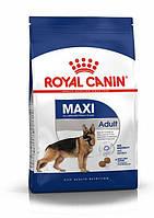 Повнораціонний сухий корм Royal Canin Maxi Adult для дорослих собак великих розмірів (15 кг)