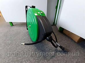 Шланг пневматический на катушке с автосматыванием 20атм 9,5x13,5мм, 12м  TOPTUL KHAP1012E