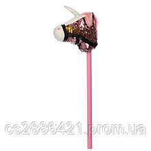 Лошадка на палке MP 2138 75 см (Розовый)