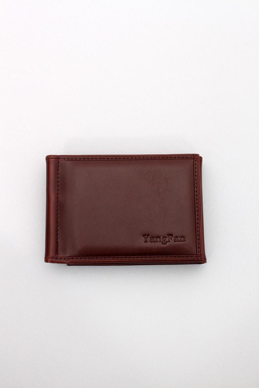 Мужской кошелек No brand Кошелек Фрэнк коричневый 7.5*10.5 (1005-2)