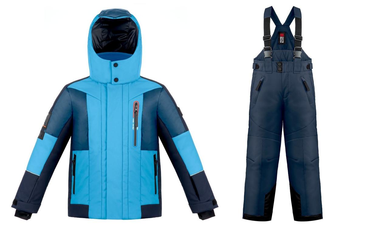 Зимний комплект (куртка+штаны) Poivre Blanc Junior Boy Multico Arctic Blue  14 лет