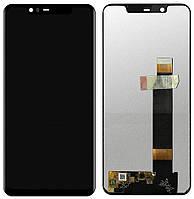 Дисплей (LCD) Nokia 5.1 Plus/   X5 (2018) с сенсором чёрный
