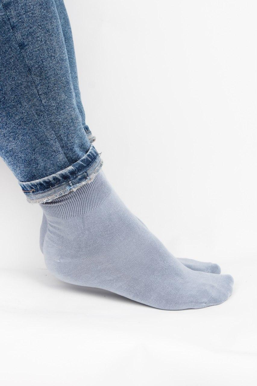 Мужские носки FAMO Фрэнк светло-серые 40-44