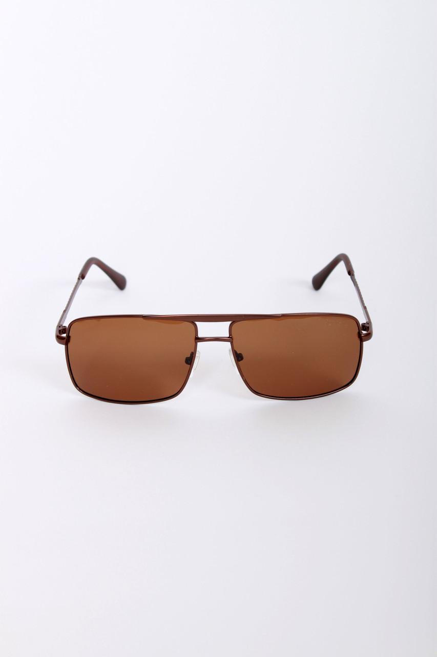 Мужские очки FAMO С поляризацией 9223 коричневые Общая ширина 14(см)/ Высота линзы 4.3(см)/ Ширина линзы