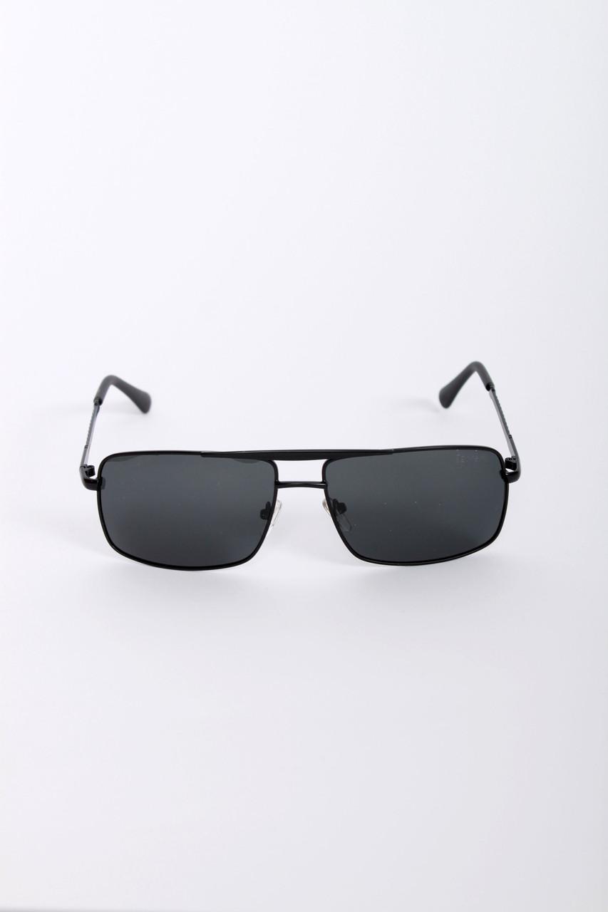 Мужские очки FAMO С поляризацией 9223 черные Общая ширина 14(см)/ Высота линзы 4.3(см)/ Ширина линзы 6.1(см)