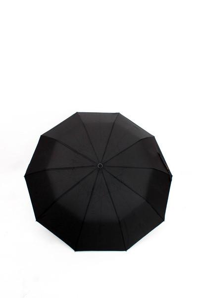 Мужской зонт FAMO Нью-Йорк черный One size (SL454)