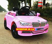 Детский электромобиль BMW БМВ на пульте радиоуправления M 3271EBLR-8 розовый