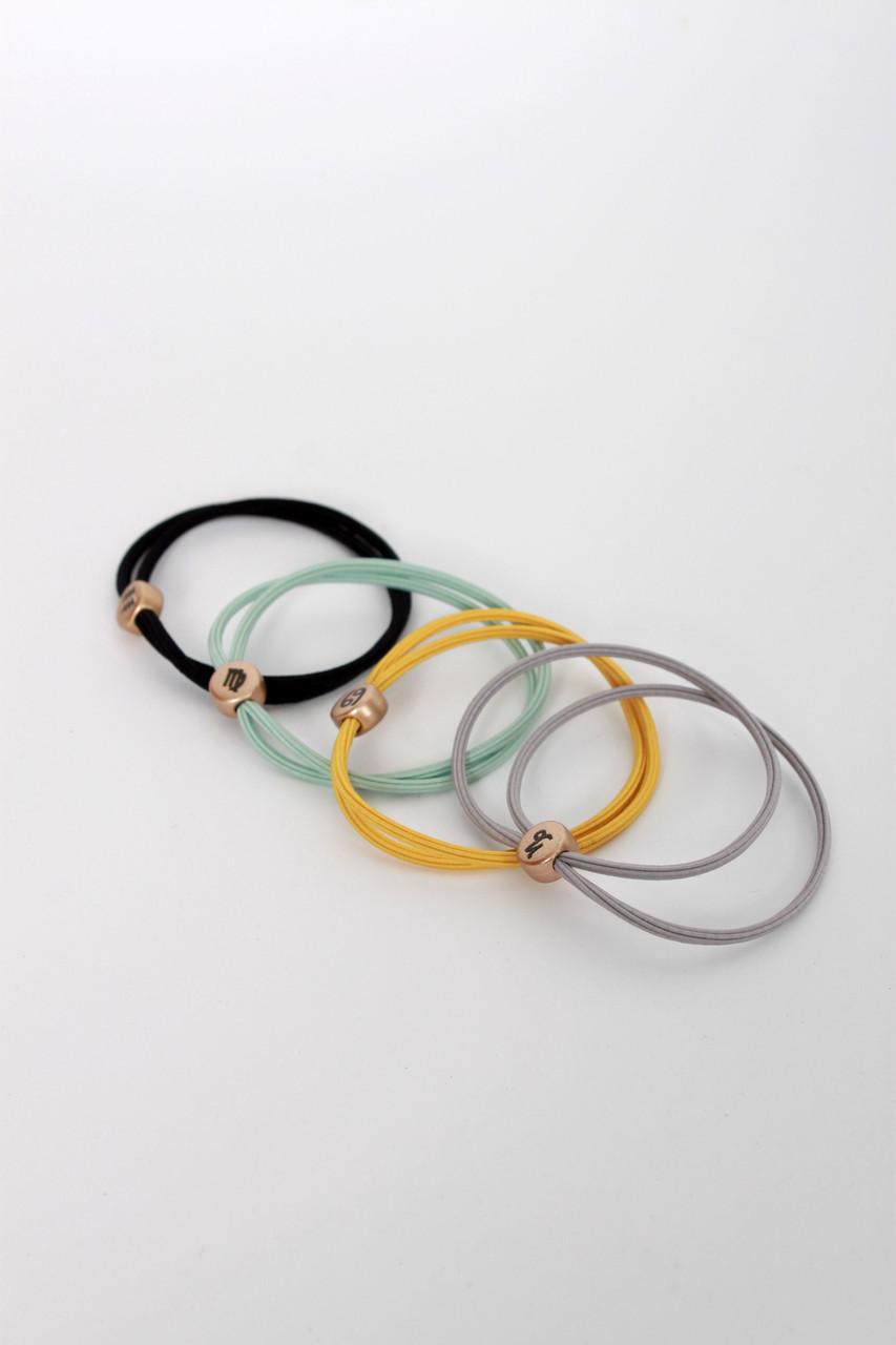 Резинка для волос FAMO Набор резинок Катлин разноцветный Длина 5(см) / Ширина 0.5(см) (Х119-19)