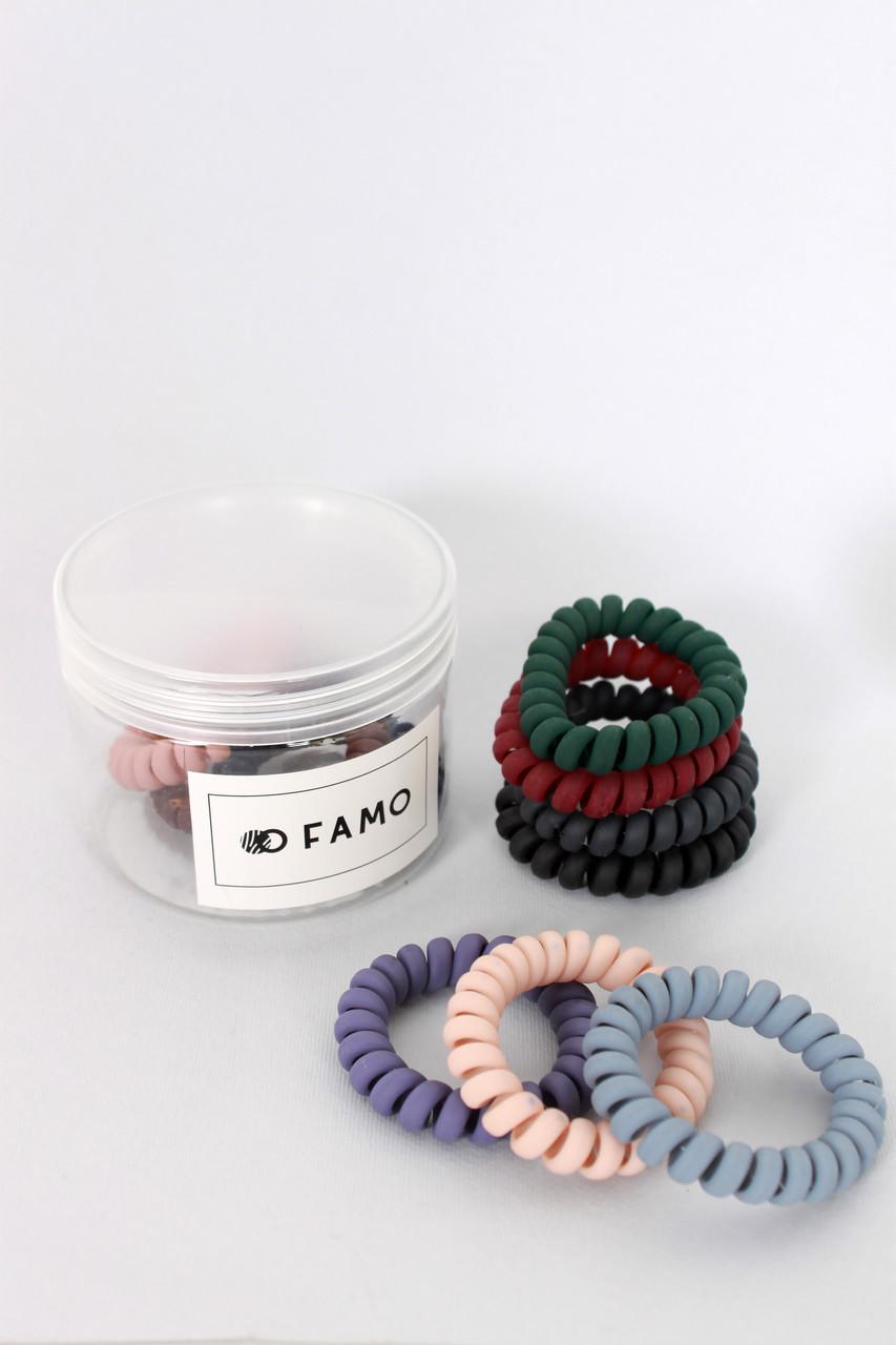 Резинка для волос FAMO Набор резинок Кесси разноцветный One size (Rez-72)