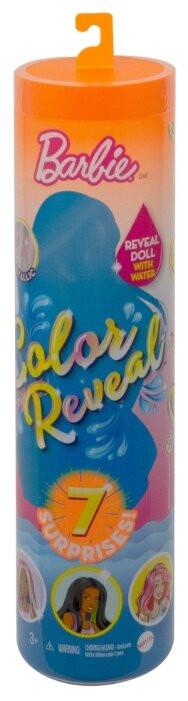 Кукла-сюрприз Barbie Color Reveal Цветное преображение GTP42 (волна 3)