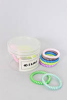 Резинка для волос FAMO Набор резинок Ниппел разноцветный One size (Rez-71)