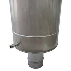 Бак для лазні з нержавіючої сталі 30 літрів AISI 304, фото 3