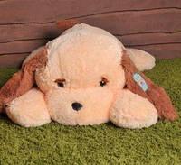 Мягкая игрушка Собака 90 см персиковый