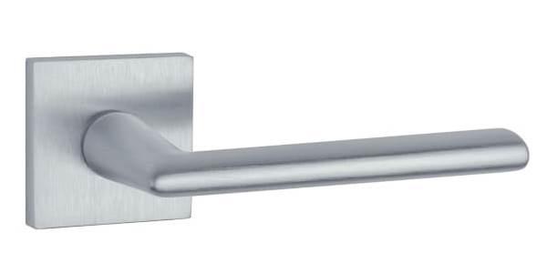 Ручка для межкомнатной двери Aprile Primula Q 7S сатин хром (Польша)