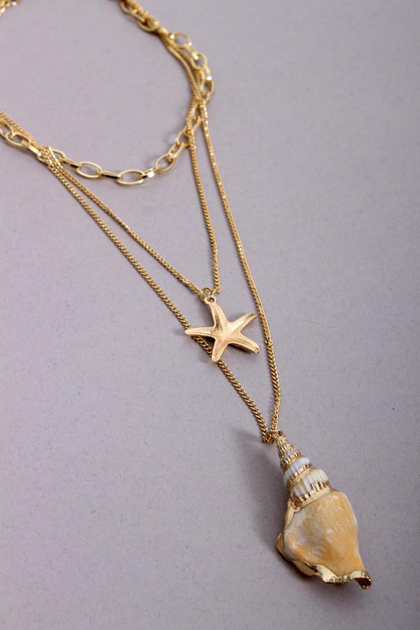 Цепочка FAMO Набор цепочек Мари золотой One size (7103)