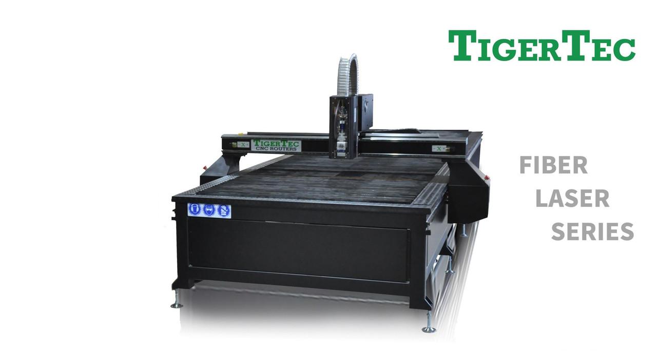Верстат лазерной різки металу Tigertec TRF1540 1500x4000 мм, джерело IPG 1000 Вт