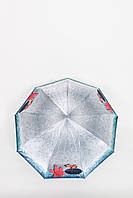 Жіночий парасольку FAMO Парасолька Браель блакитний 117*57*30 (570)