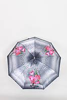 Жіночий парасольку FAMO Парасолька Браель сірий+рожевий 117*57*30 (570)