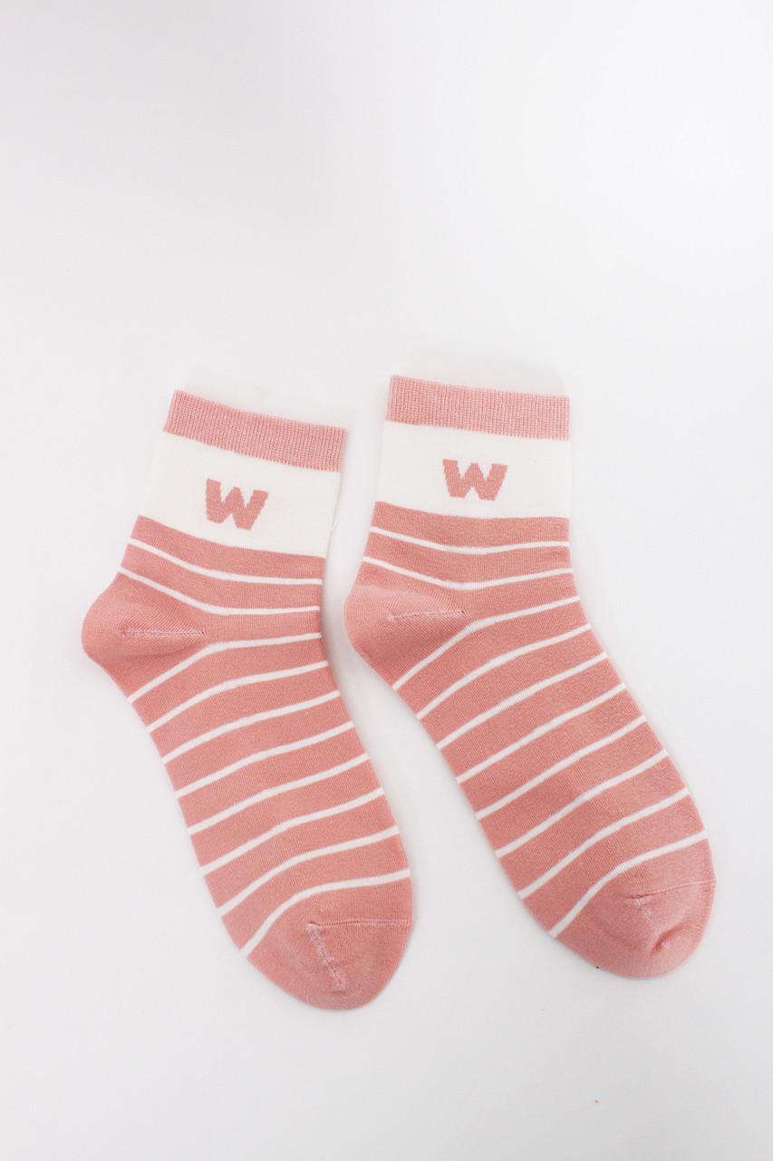 Женские носки FAMO Носочки Бесси пудровые 36-40 (2807)