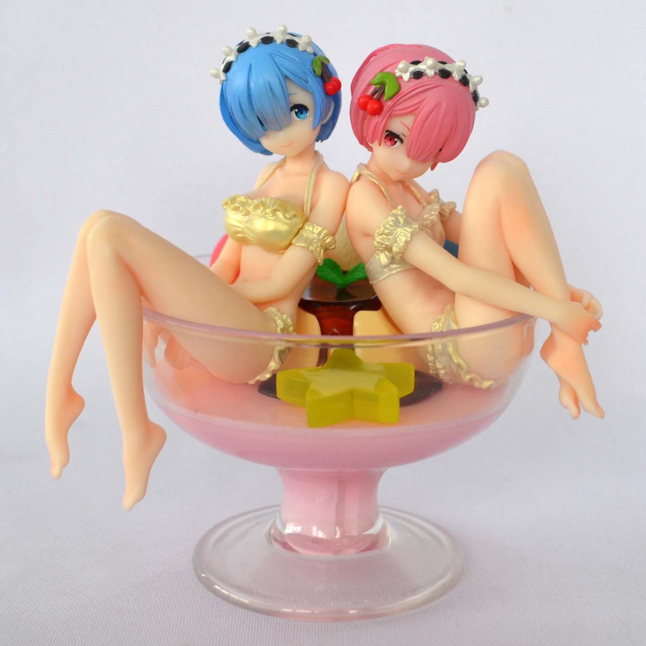 Аніме-фігурка Rem & Ram -Pudding à la Mode- Ver.