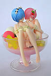 Аніме-фігурка Rem & Ram -Pudding à la Mode- Ver., фото 5