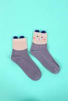 Женские носки FAMO Носочки Бри темно-лиловые 37-40 (В2626-2)