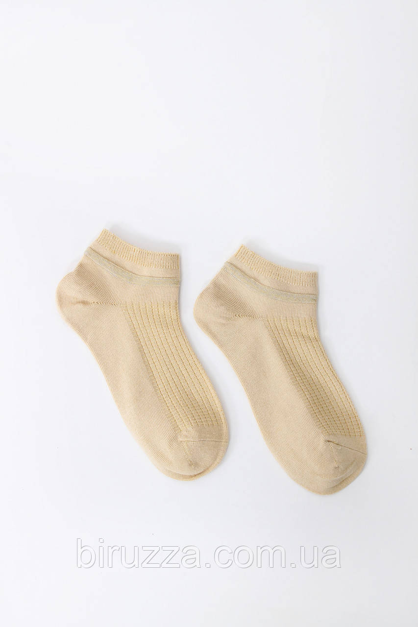 Женские носки FAMO Носочки Гамми желтые 36-39 (# 9232-2)