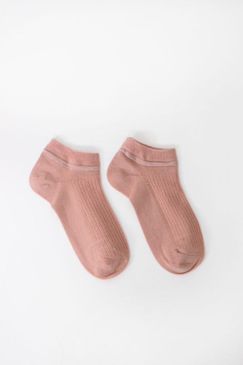 Женские носки FAMO Носочки Гамми пудровые 36-39 (# 9232-2)