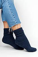 Женские носки FAMO Носочки Глимэн синие 36-40 (8011)