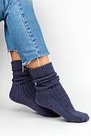 Женские носки FAMO Носочки Глимэн темно-синие 36-40 (8011)
