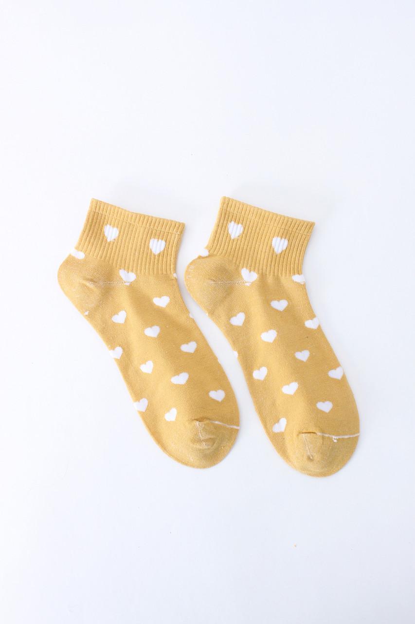 Женские носки FAMO Носочки Дайна желтый 36-39 (V-220-37)