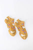 Женские носки FAMO Носочки Джейд желтый 36-39 (NF-2002-37)