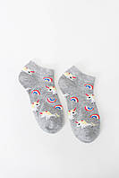 Женские носки FAMO Носочки Джейд серый 36-39 (NF-2002-37)