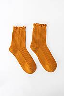 Женские носки FAMO Носочки Джен желтый 36-39 (NF-2008)