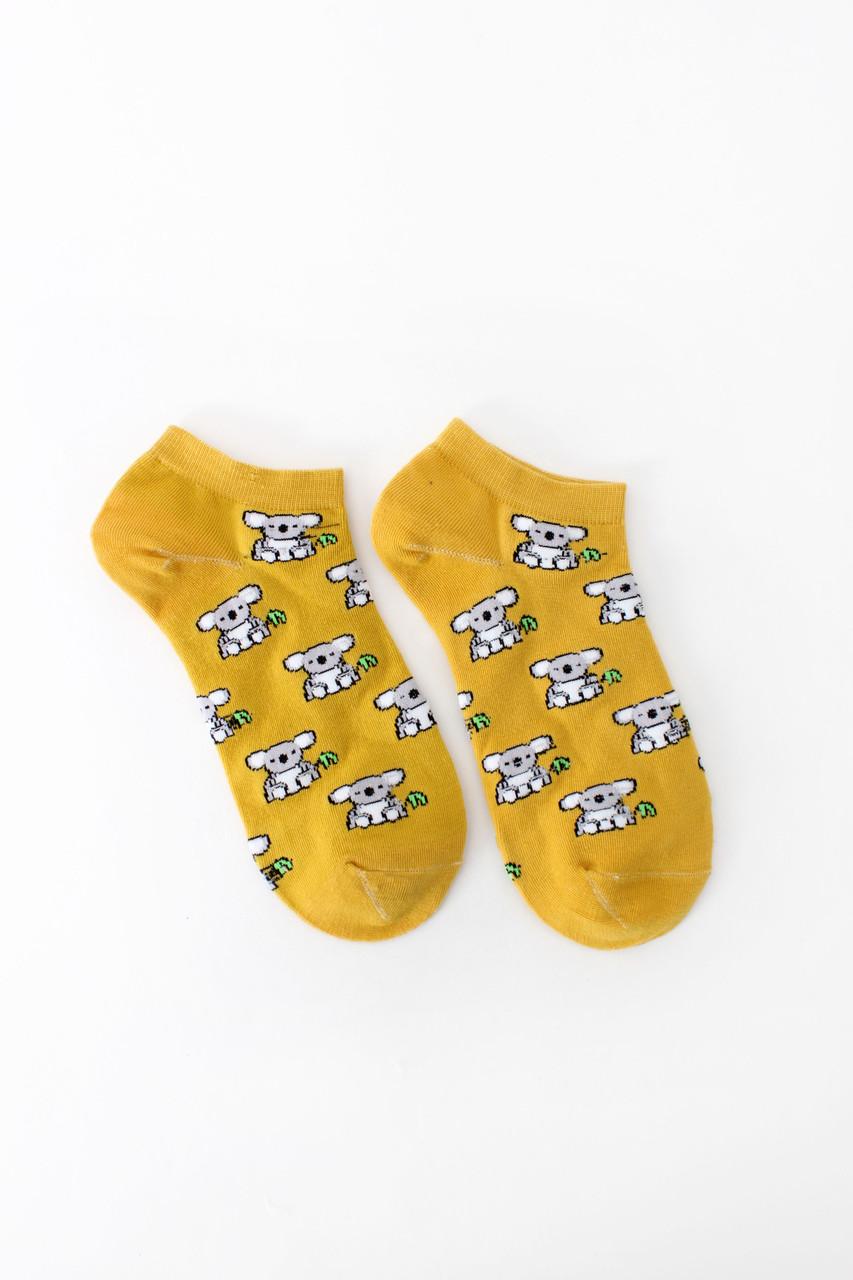 Женские носки FAMO Носочки Доун желтый 36-41 (NF-2002-17)
