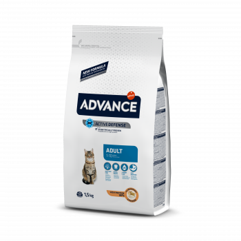 Сухой корм Advance Cat Chicken&Rice для взрослых котов з курицей и рисом, 1,5 кг