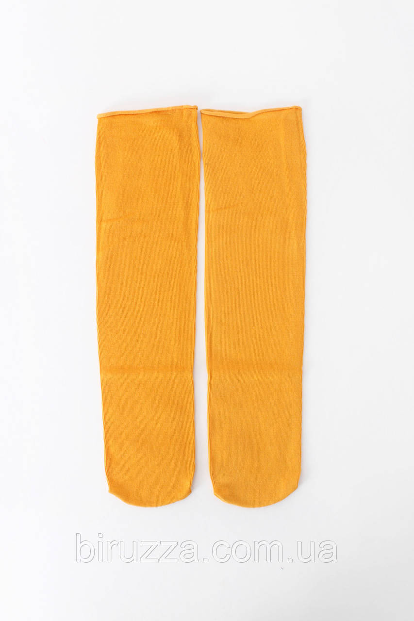Женские носки FAMO Носочки Кирнан желтый Free size (NF-2012-34)