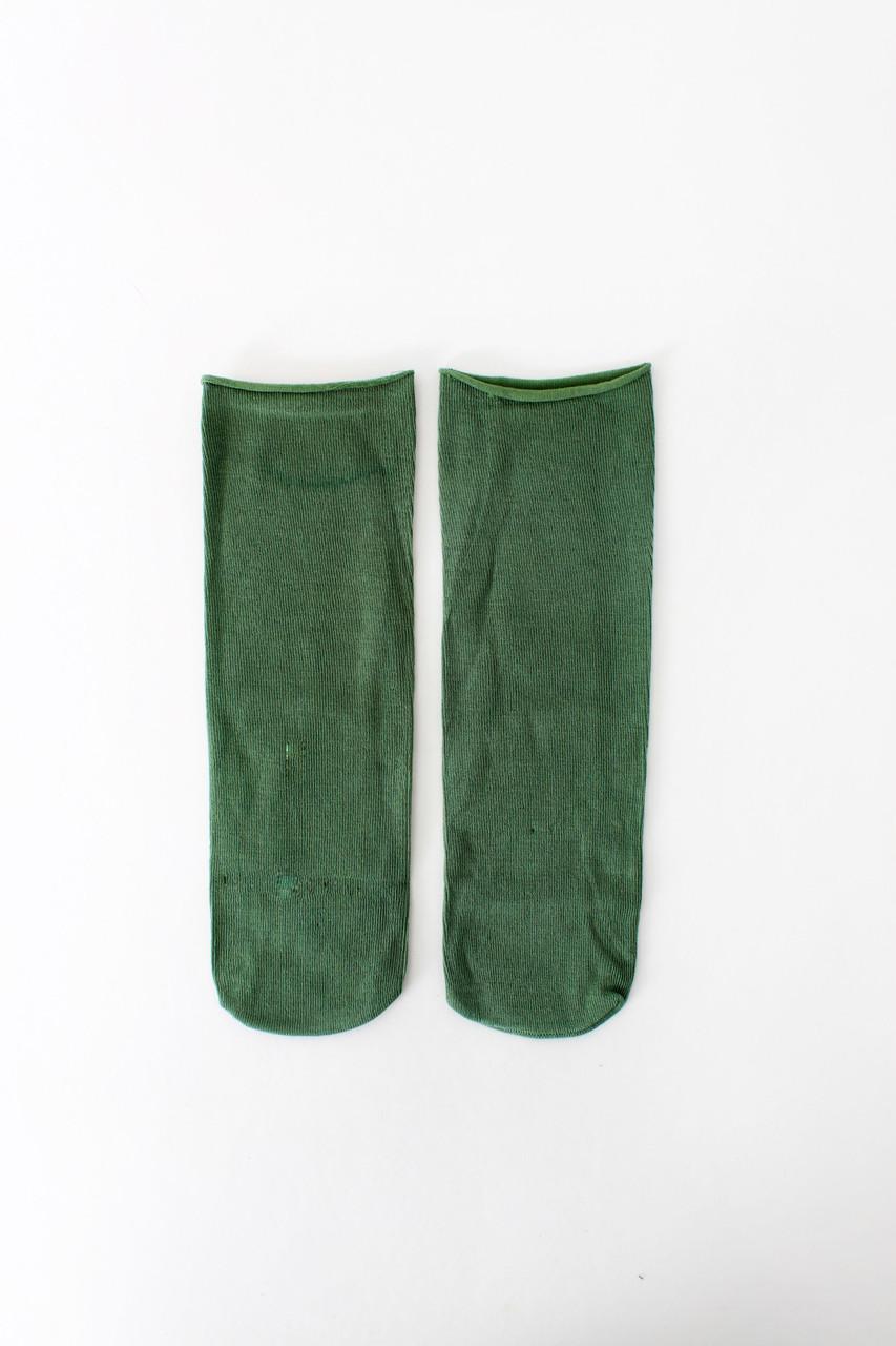 Женские носки FAMO Носочки Кирнан зеленый Free size (NF-2012-34)