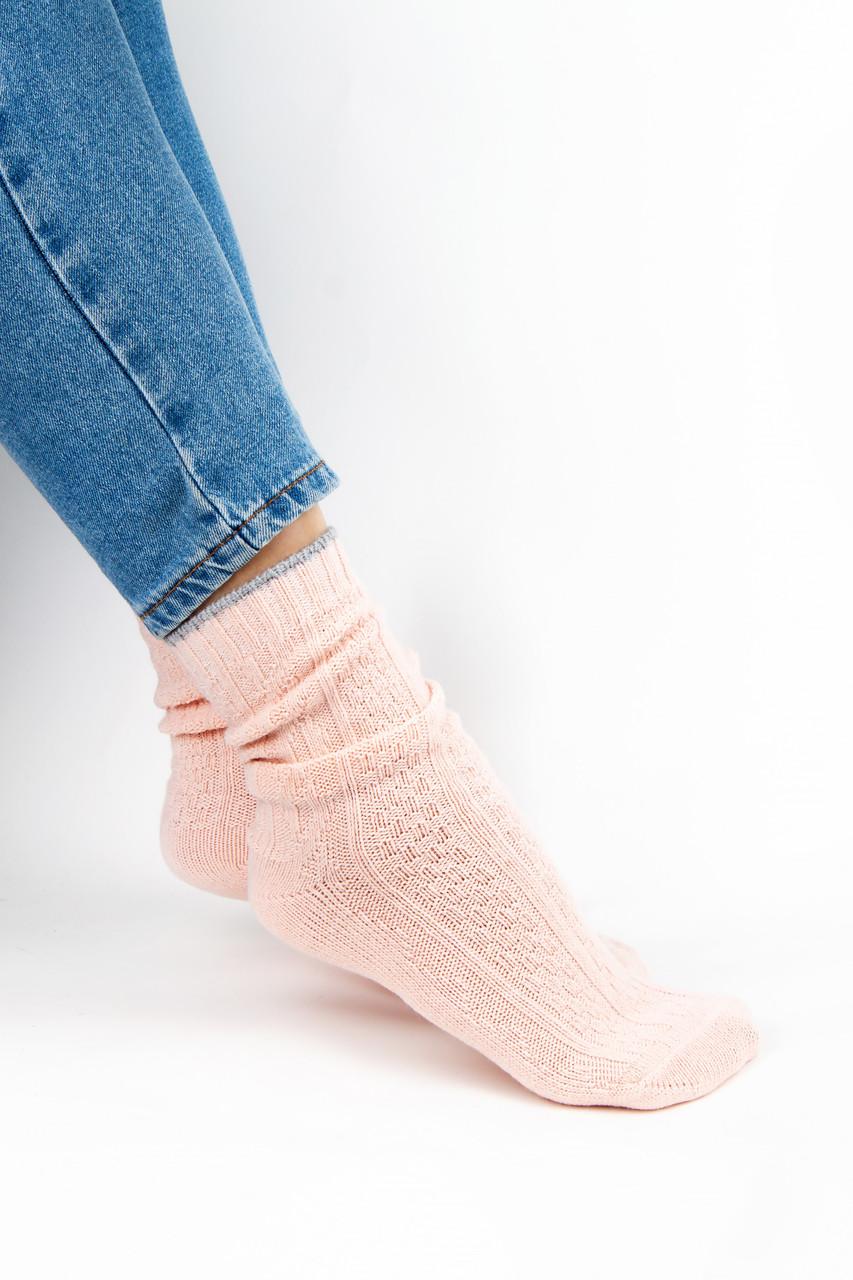 Женские носки FAMO Носочки Клэт пудровые 37-41 (2046)