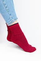 Женские носки FAMO Носочки Клэт темно-красные 37-41 (2046)