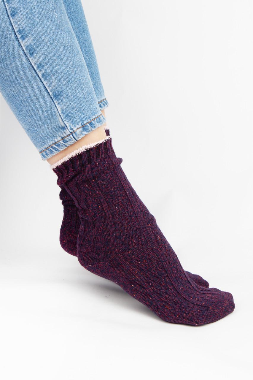 Женские носки FAMO Носочки Клэт фиолетовые 37-41 (2046)