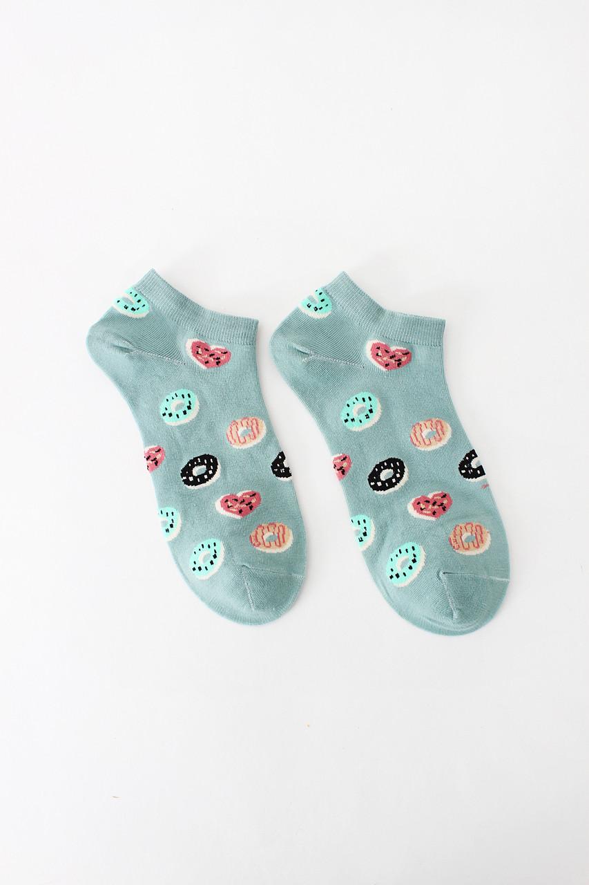 Женские носки FAMO Носочки Кэрол зеленый 36-41 (NF-2002-7)