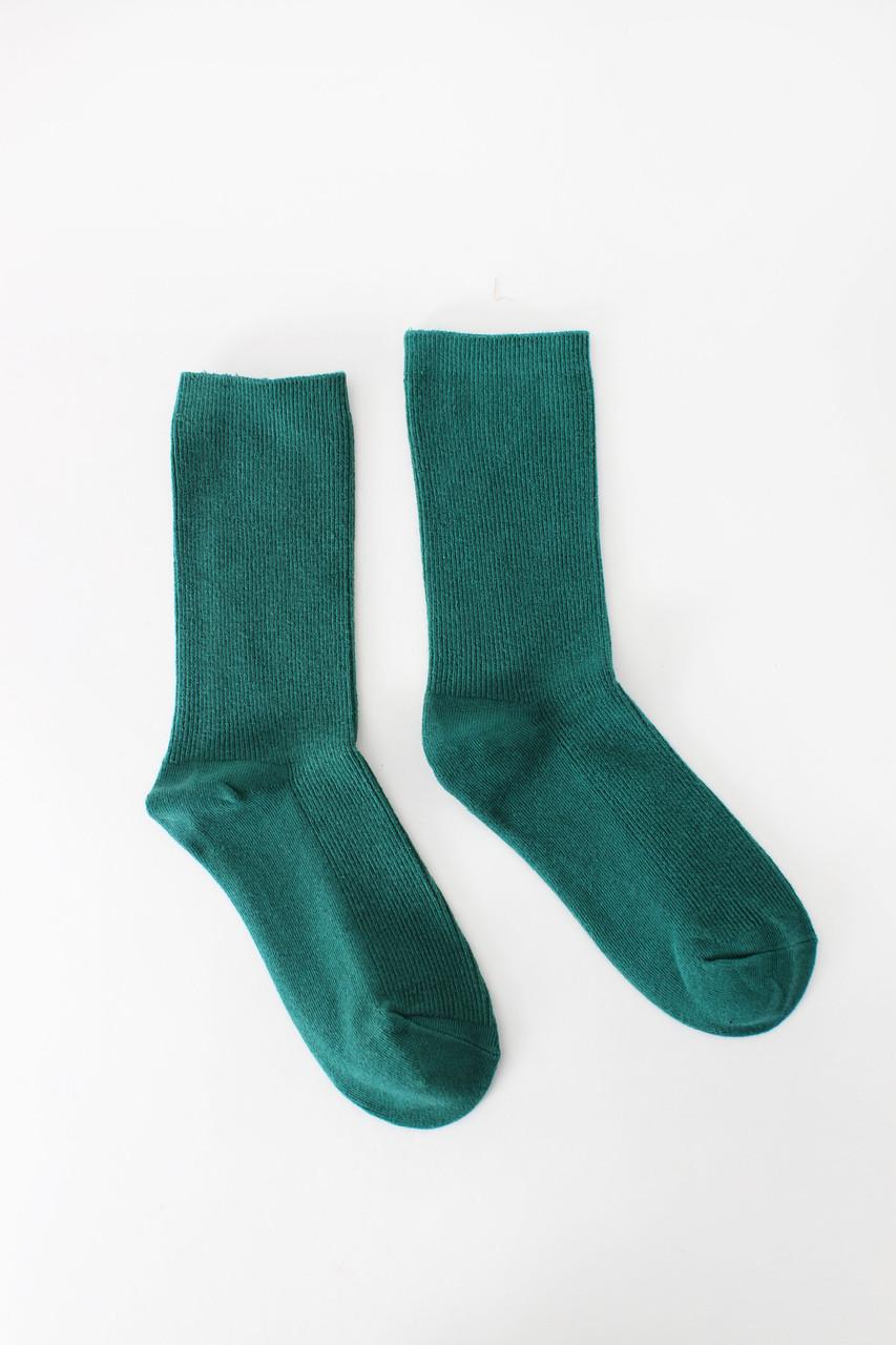 Женские носки FAMO Носочки Лайза зеленый 36-39 (NF-2010)
