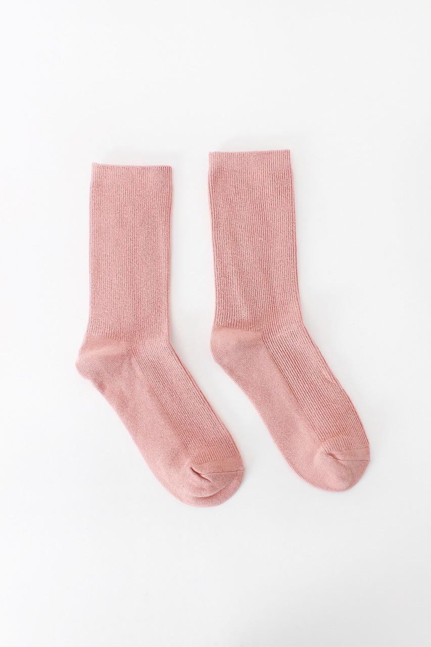 Женские носки FAMO Носочки Лайза пудровый 36-39 (NF-2010)