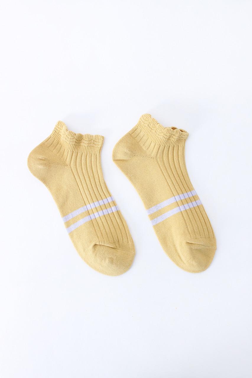 Женские носки FAMO Носочки Лэйси желтый 36-39 (#9232-2)
