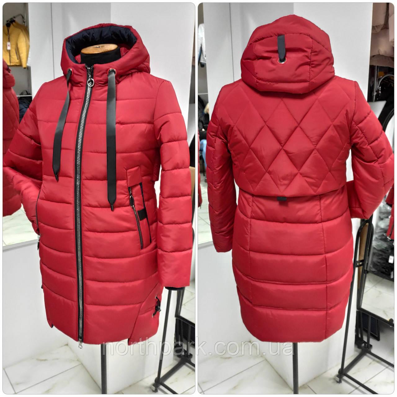 Длинная зимняя женская куртка Edem-310, размер 50