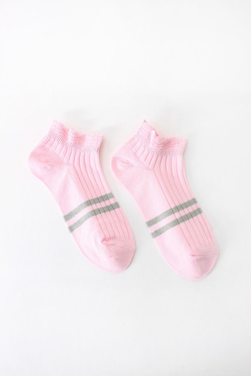 Женские носки FAMO Носочки Лэйси розовый 36-39 (#9232-2)